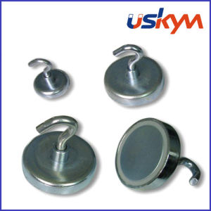 Sintered NdFeB Magnetic Hook (H-001) pictures & photos