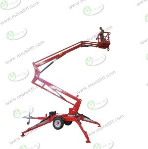 Articulating Boom Lift with Working Height 12m pictures & photos