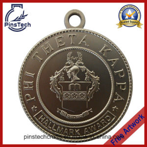 Customized Medal with Matt Silver Finish, Paypal Accepted pictures & photos