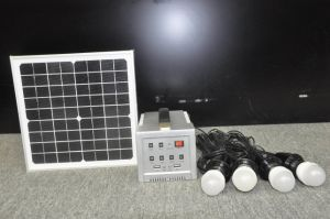 Multi-Use Solar Lighting Kit 10W pictures & photos