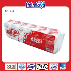 Eco-Friendly 3ply Toilet Rolling Tissue Paper pictures & photos