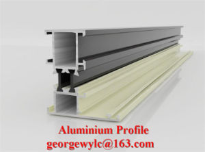 Extrusion Aluminium Frame Extrusion Profile of Windows and Doors pictures & photos