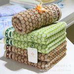Cotton Jacquard Towel Bathtowel Towellling Coverlet (xinya006)