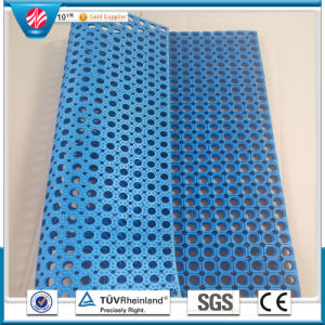 Safety Anti-Skid Draining Rubber Flooring