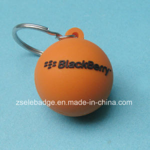 Fashion Rubber PVC Ball Keychain pictures & photos