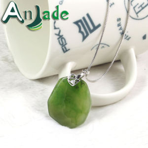 Green Jade Polished Pendant