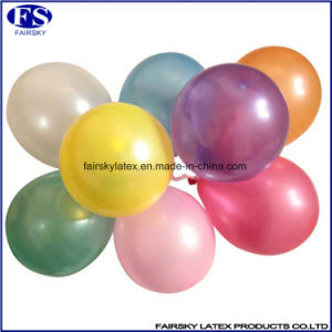 Latex Free 3.2g Pearl Balloon pictures & photos