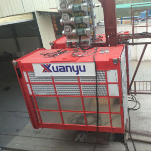 Frequency Passenger Building Construction Goods Lift Industrial Elevator pictures & photos