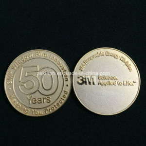 Custom Simple Small Cheap Metal Challenge Coins for Collection pictures & photos