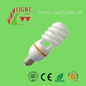 T4 Half Spiral Energy Saving Lamp Bulb CFL 65W pictures & photos
