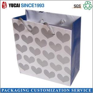 Customized White Kraft Paper Handbag pictures & photos