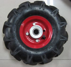 Stable Quality Agricultural Hand Tools Tyre 4.00-8 Rubber Tire pictures & photos