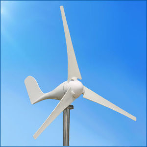 Mini Horizontal Axis 100W Wind Generator Turbine for Streetlight Use pictures & photos