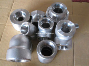 ANSI/ Asme B16.11 Forged Pipe Fitting pictures & photos