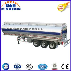 3 Axle 52cbm Aluminium Alloy Tanker Truck Semitrailer pictures & photos