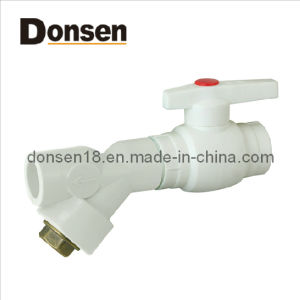 a Type Plastic Ball Valve with Brass Core and Filter pictures & photos