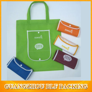 Standard Size Foldable Tote Shopping Bag pictures & photos