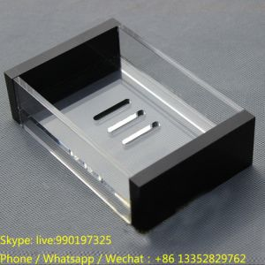 OEM Clear Acrylic Hotel Soap Holder Manufacturer pictures & photos