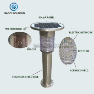 Outdoor Solar Powered Mosquito Eleminator Solar Mosquito Trap for Sports pictures & photos