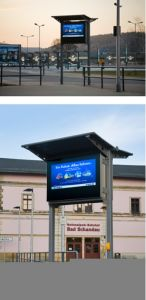 55inch Allweather Outdoor LCD Digital Poster pictures & photos