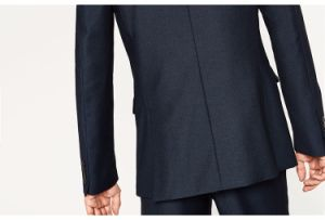 High Quality Navy Blue Designer Suit Blazer for Men pictures & photos