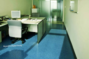 Top Quality Homogeneous PVC Comercial Floor with 3mm pictures & photos