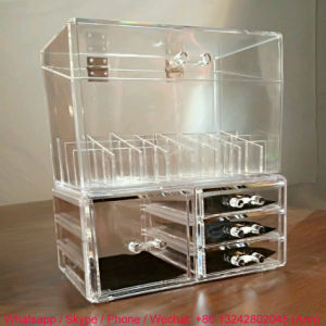 Super Quality Acrylic Lipstick Holder with Drawers pictures & photos