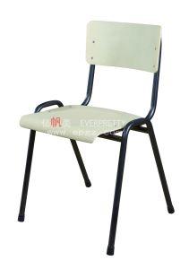 New Design School Furniture College Classroom Single Plastic Chair pictures & photos