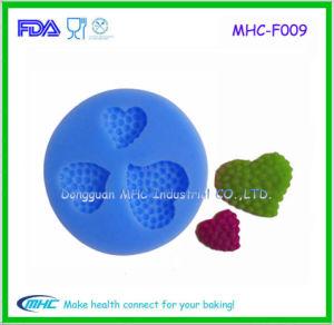 FDA Silicone Strawberry Fondant Mold