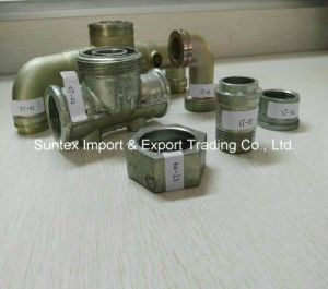 Malleable Iron Pipe Fitting Gas Meter Connector pictures & photos