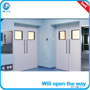 Automatic Professional Hermetic Stainless Steel Hospital Doors pictures & photos