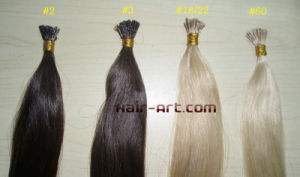 Stock 100% Remy Hair Extension - Nail Tip, Flat Tip & Shoelace pictures & photos