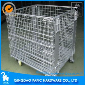Warehouse Rolling Container  , Metal Cage with Wheel pictures & photos