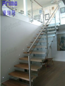 Modern Indoor Tempered Glass Railing for Staircase pictures & photos