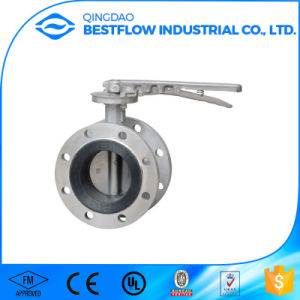 Wafer Type Cast Steel Butterfly Valve pictures & photos