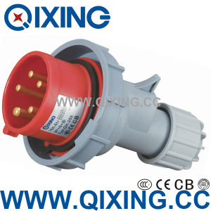 3 Phase Male Connector with IEC Standard (QX-288) pictures & photos