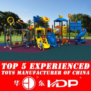 2014 Hotsale Plastic Outdoor Playground Equipment (HD14-079A) pictures & photos