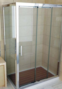 4mm 5mm 6mm Tempered /Toughened Shower Door Glass for The CE pictures & photos