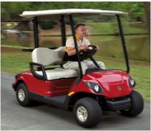 2seats 48V 4000W Electric Golf Car pictures & photos