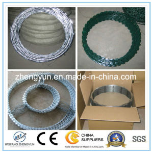 Colourful Powder-Coating Razor Barbed Wire pictures & photos