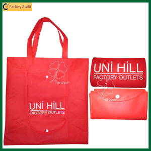 Promotional Non-Woven Material and Folding Style Commercial Tote Bags (TP-FB059) pictures & photos