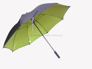 Windproof Manual Open Double Layer Golf Umbrella