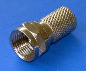 F Crimp Male Plug Connector (YO 2-001)