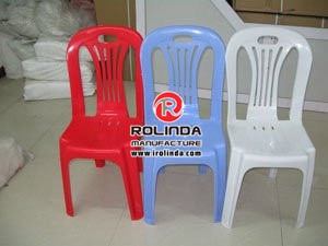 Plastic Chair Without Armrest of Different Colors pictures & photos