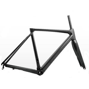 High Quality Full Carbon Road Bike Frame with Fork Inside Cable Bb86 En Standard