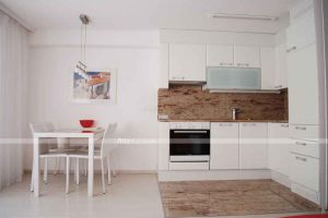Kitchen Furniture High Gloss Laminate Kitchen Cabinet, PVC Kitchen Cabinet pictures & photos