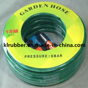 PVC Garden Hose with Fittings and Card pictures & photos