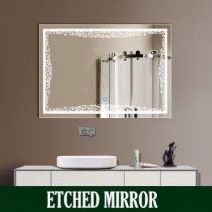 Bathroom Lighted Backlit LED Illuminated Mirrors Mirror Cabinet For Hotel