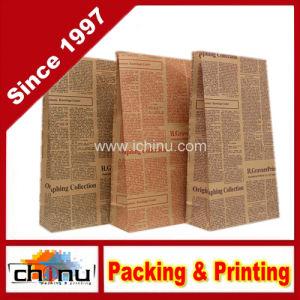 Cmyk 4 Color Imprint Kraft Paper Bag (2128) pictures & photos