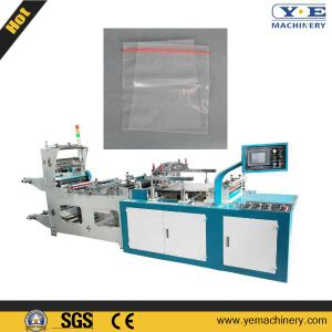 High Speed Servo Motor Drive Zip Lock Bag Making Machine pictures & photos